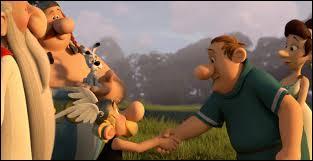 """Dans le film d'animation """"Astérix, le Domaine des Dieux"""", quel est le métier de Petiminus ?"""