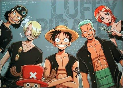 Qui est le premier futur équipier de Luffy que nous voyons dans One Piece?