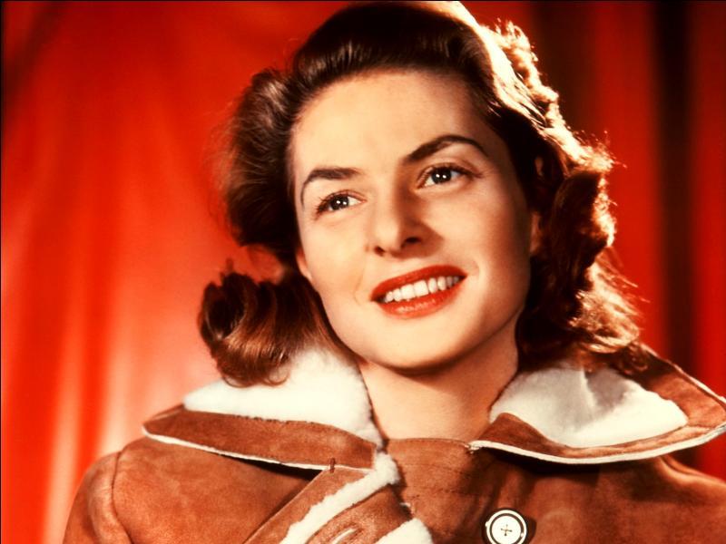 Elle est née le 29 août 1915, et morte le jour de ses 67 ans en 1982. De quelle nationalité était Ingrid Bergman ?