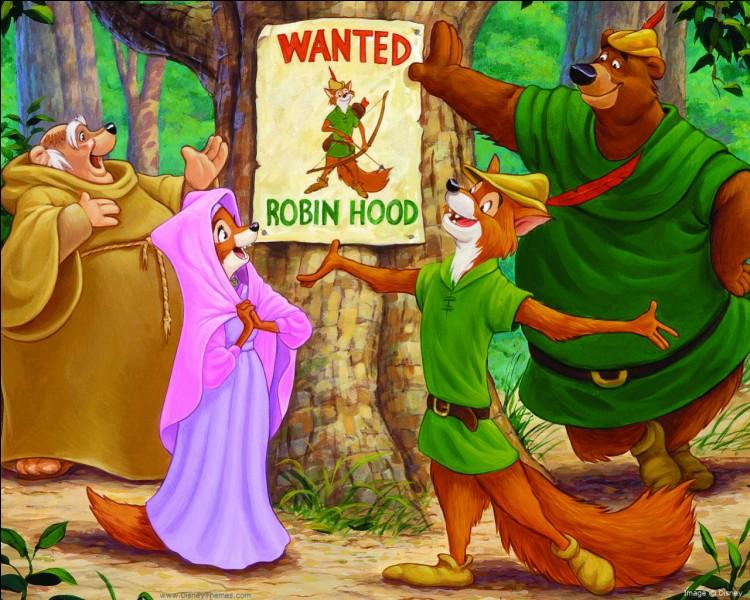 Walt Disney a joué Robin des bois dans une pièce de théâtre quand il était petit.