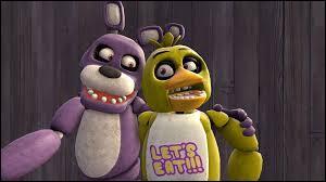 Chica et Bonnie ont un point commun, lequel ?
