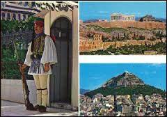 Elle est le cœur culturel de la Méditerranée, cette capitale est l'une des plus anciennes villes au monde. Cette carte vient :