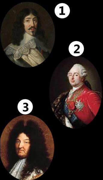 Parmi ces rois de France, lequel est Louis XVI ?