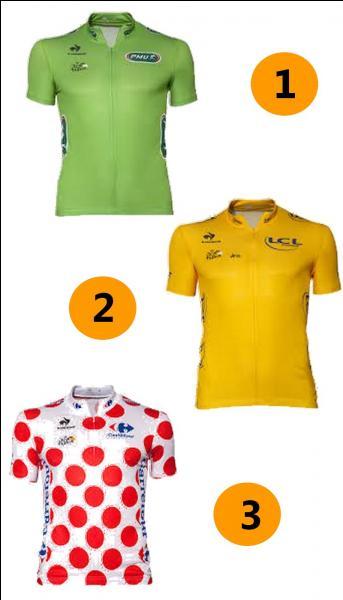 Quel maillot porte le meilleur grimpeur cycliste du Tour de France ?