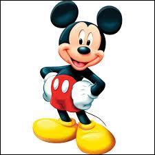 Quelle est la mascotte de Disney ?