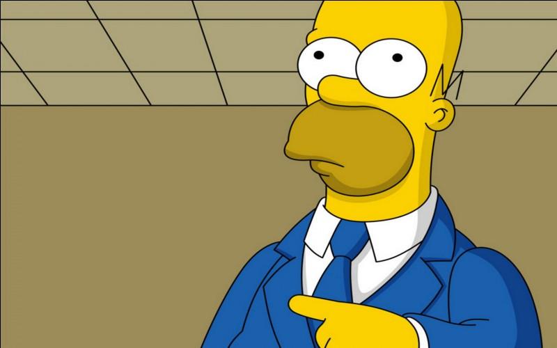 À l'origine, Homer Simpson devait avoir une identité secrète.