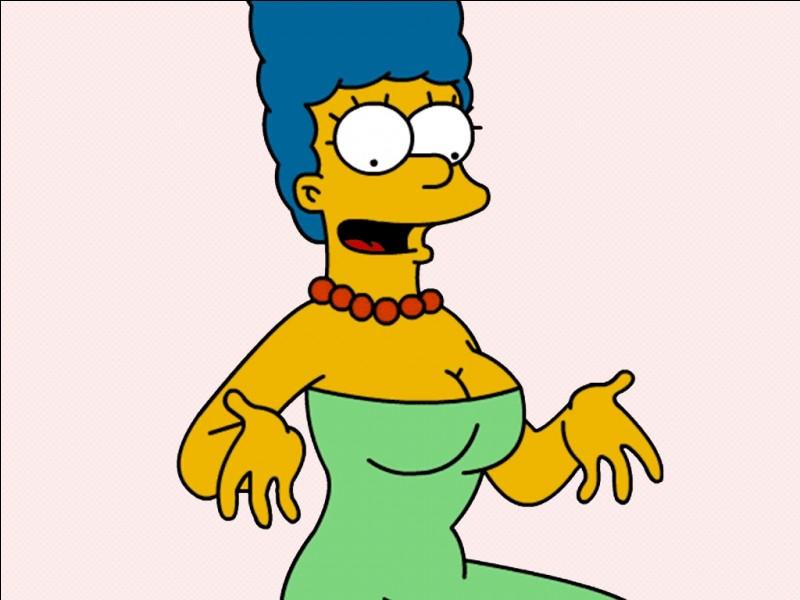 La coiffure de Marge est inspirée de celle qu'avait Margaret Groening en 1960.