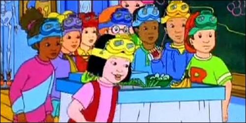 """De quelle couleur est le bus dans """"Le Bus Magique"""" ?"""