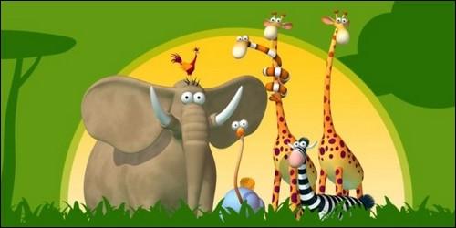 Comment s'appelle ce dessin animé qui raconte les aventures des animaux de la savane ?
