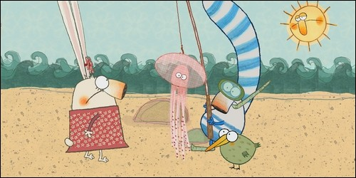 """Dans """"Pipi, Pupu et Rosemarie"""", les héros sont à la recherche de :"""