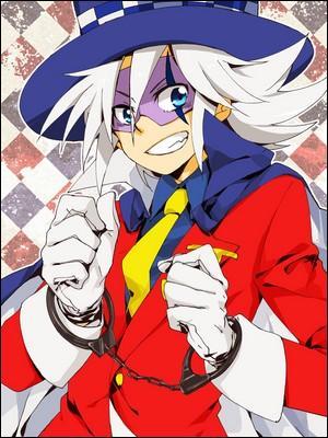 Dans quel anime peut-on découvrir un héros appelé Joker, qui est un mystérieux voleur fantôme auquel aucun butin ne résiste ?