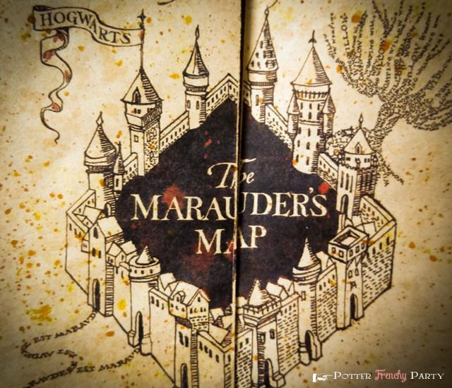 Les cartes dans Harry Potter