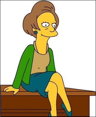 Qui est la prof de Bart ?