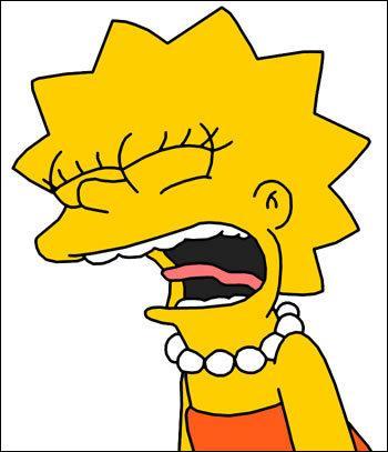 Que dit Lisa quand elle est tannée par son frère ?