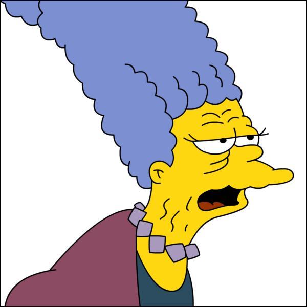 Quel est le nom de la mère de Marge ?