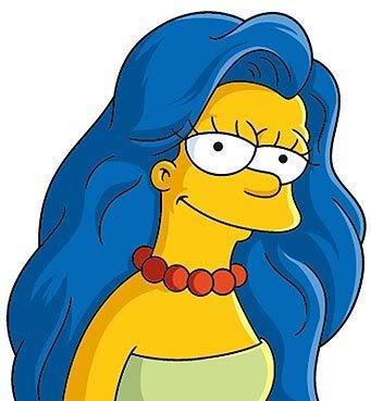 Marge : les Simpson