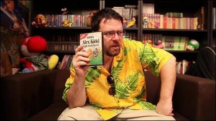 D'après une vidéo comment a-t-il eu le jeu Alex Kidd in High Tech World ?