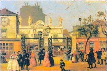 1873-1985-2015 - Tout d'abord guinguette, café-concert puis salle de spectacle. Quel est ce haut lieu de la chanson française, situé rue de la Gaîté à Paris qui a fait entre autres les beaux jours d'une émission de radio très populaire ?