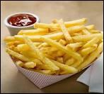Les frites sont faites à partir de...
