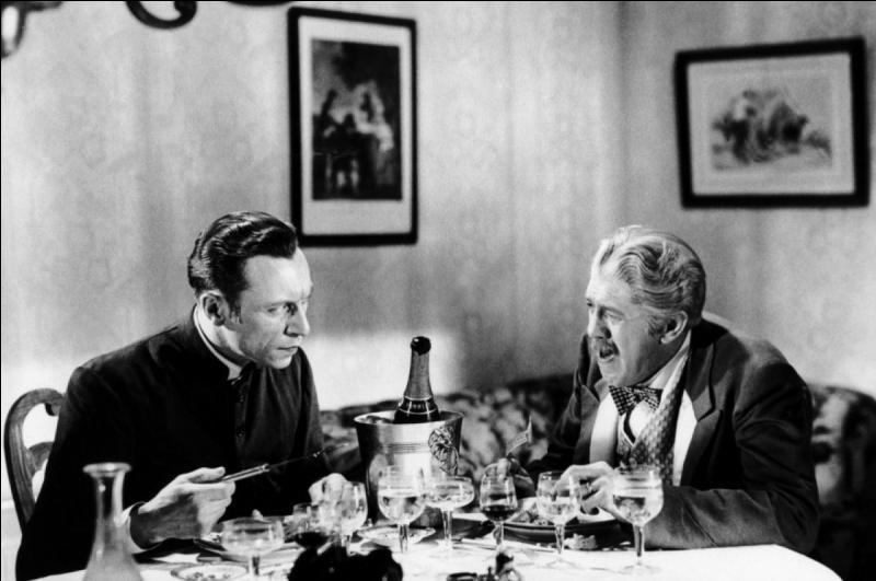 """Que sert-on pour dîner à Louis Jouvet et Michel Simon dans """"Drôle de drame"""" ?"""