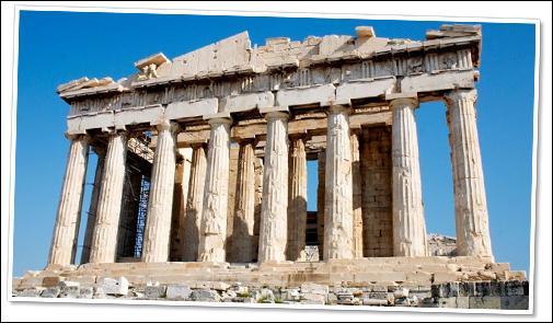 A l'origine, quelle(s) œuvre(s) d'art se trouvai(en)t dans le Parthénon ?