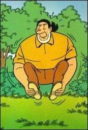 """Bandes dessinées - Quel personnage est doté d'une force herculéenne dans la bande dessinée flamande """"Bob et Bobette"""" ?"""