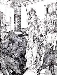 """Dans """"l'Odyssée"""" de Homère, comment se nomme la puissante enchanteresse ayant transformé les compagnons d'Ulysse en porcs ?"""