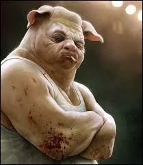 """Parmi les propositions, désignez celle ne pouvant être attribuée à une personne ayant, selon l'expression connue, """"une tête de cochon"""" :"""