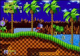 """En quelle année est sorti le premier jeu vidéo """"Sonic"""" ?"""