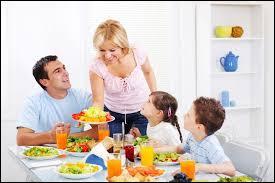 D'après les bonnes manières à table, que ne doit-on pas poser sur la table pendant le repas ?