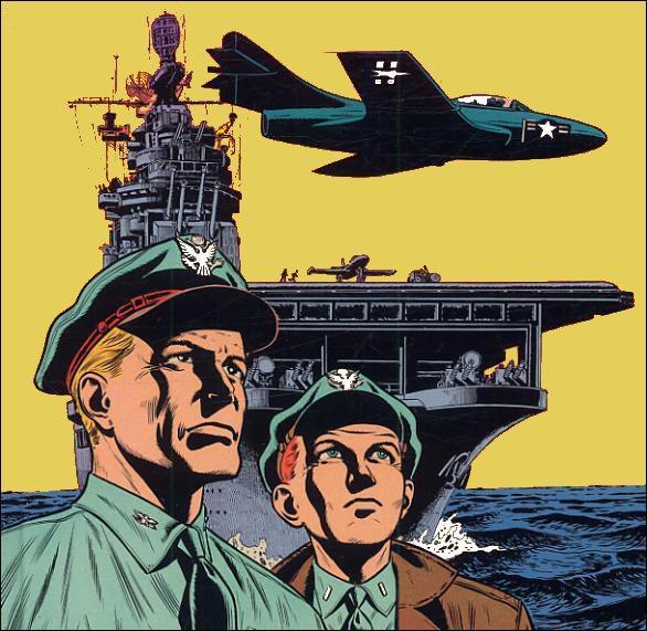 """Sur quel porte-avions embarque Buck Danny dans """"La patrouille de l'aube"""" ?"""
