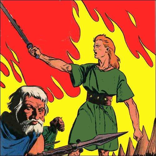 """Quel est le premier récit paru dans """"Tintin"""" de """"Harald le Viking"""" en 1956 ?"""