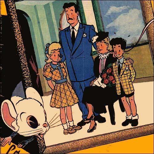 """Qui est l'auteur de """"La Famille Petitoux"""" ?"""