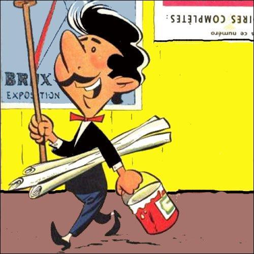 Qui est cet étonnant personnage créé par Dino Attanasio en 1952 ?