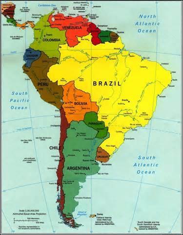 """Quel pays d'Amérique du Sud a pour capitale """"La Paz"""" ?"""