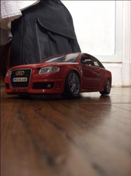 Quel est le modèle de cette Audi ?