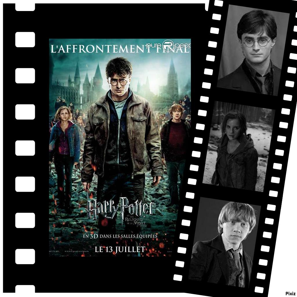 De quel film Harry Potter est extraite cette image ?