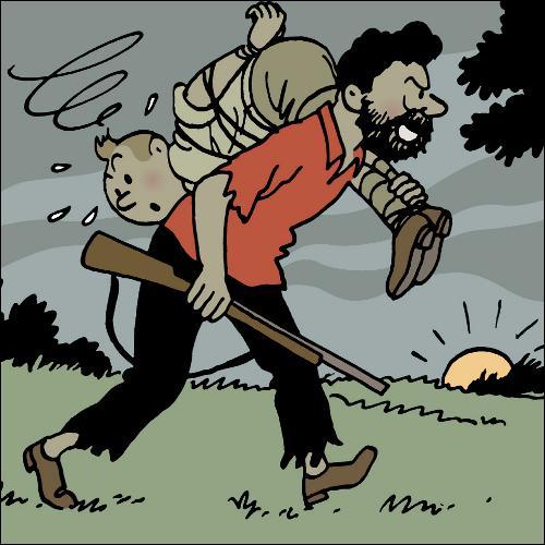 Qui est ce passager clandestin qui va chercher à éliminer Tintin ?