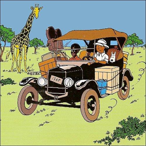 Quelle est la marque de la voiture de Tintin ?