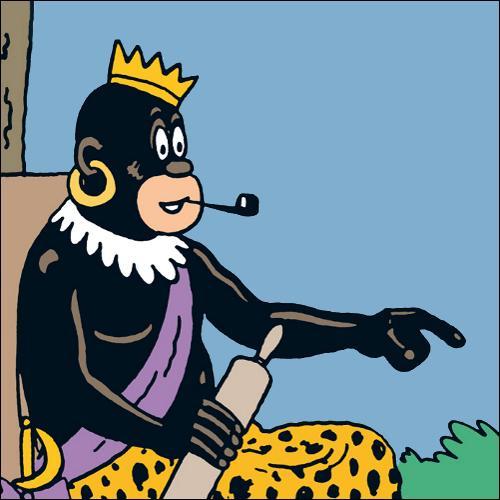 De quelle tribu ce personnage est-il le roi ?