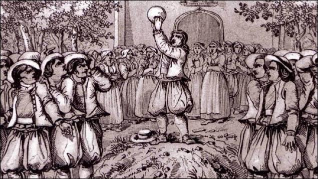 Au Moyen Age se pratiquait un jeu de balle très violent, aux règles réduites, quel est son nom ?
