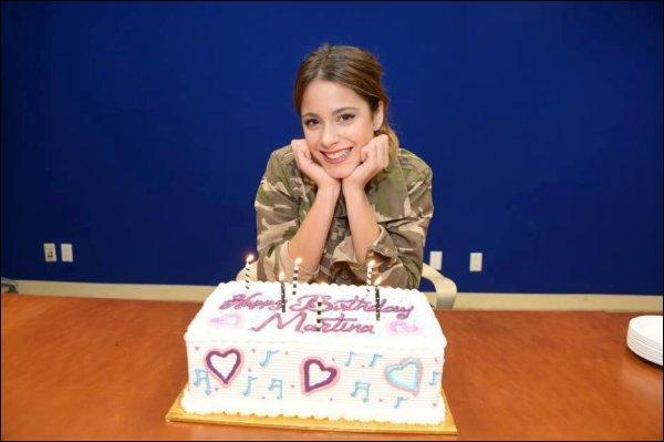 Quelle est la vraie date d'anniversaire de Martina Stoessel ?