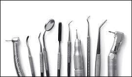 """Dans quel corps médical trouve-t-on des instruments appelés """"fraise"""" ?"""