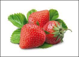 Parmi ces variétés de fraises, laquelle n'est pas d'origine française ?