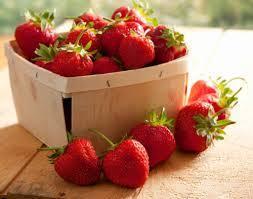 Autour du mot 'fraise'