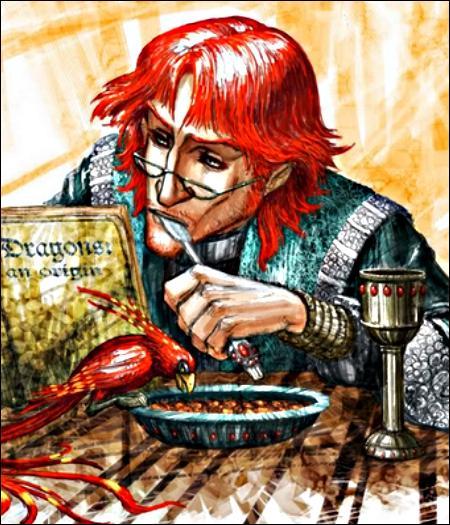 De quel couleur étaient les cheveux de Dumbledore lorsqu'il avait 60 ans ?