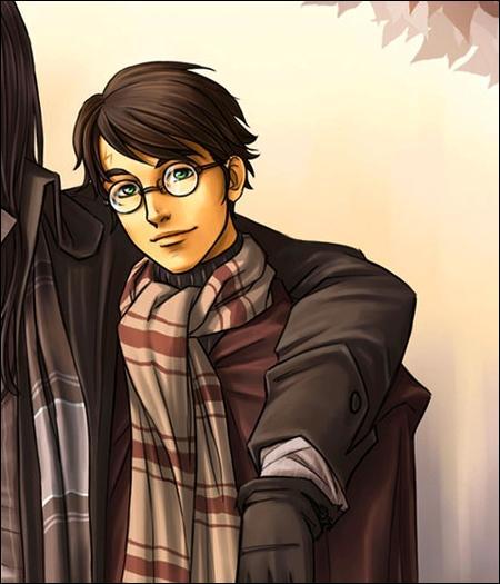 Quel personnage imite sans le savoir le père d'Harry en s'ébouriffant exprès les cheveux pour avoir l'air du sportif décontracté qui vient de descendre de son balai ?