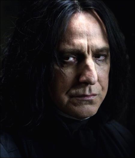 « Quand il le veut, il est capable de filer plus vite que Severus Rogue confronté à une bouteille de shampoing. »