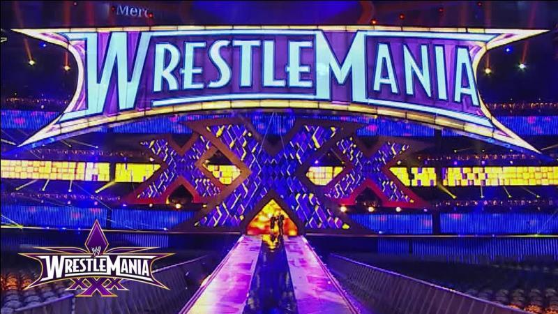 Quelle légende de la WWE a ouvert Wrestlemania XXX ?