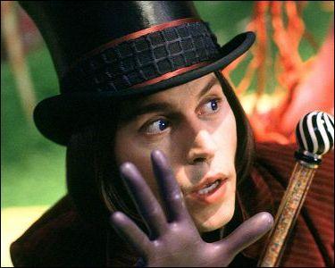 """Dans """"Charlie la chocolaterie"""" quel est le véritable nom de l'acteur principal qui joue Willy Wonka ?"""